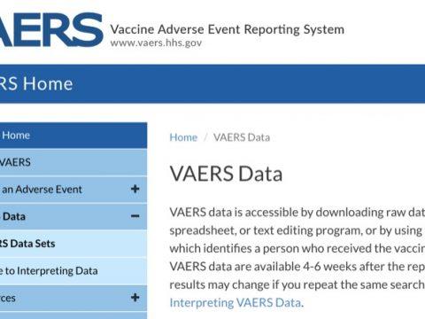 VAERS - amerikansk databas med rapporterade biverkningar